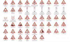 Señales de tráfico: Señales de Peligro